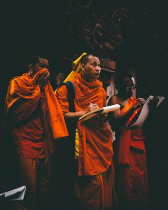 teachings can be transcribed by monks for their own use