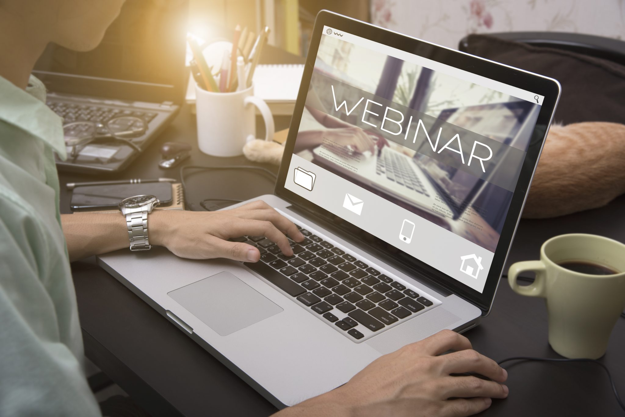 How Can Closed Captions Improve Webinar Viewership?
