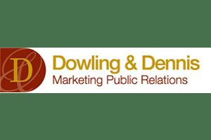 Dowling dennis marketing public relations logo
