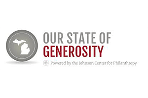 Our state of generosity logo