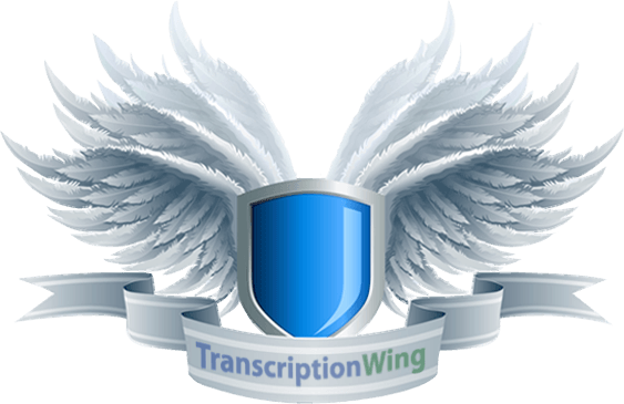 Transcriptionwing offers secure transcriptions for all its customers and safeguards confidentiality and privacy